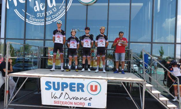 Samedi et dimanche 29 et 30 juin course FFC 2 jours de Sisterons course à étapes.
