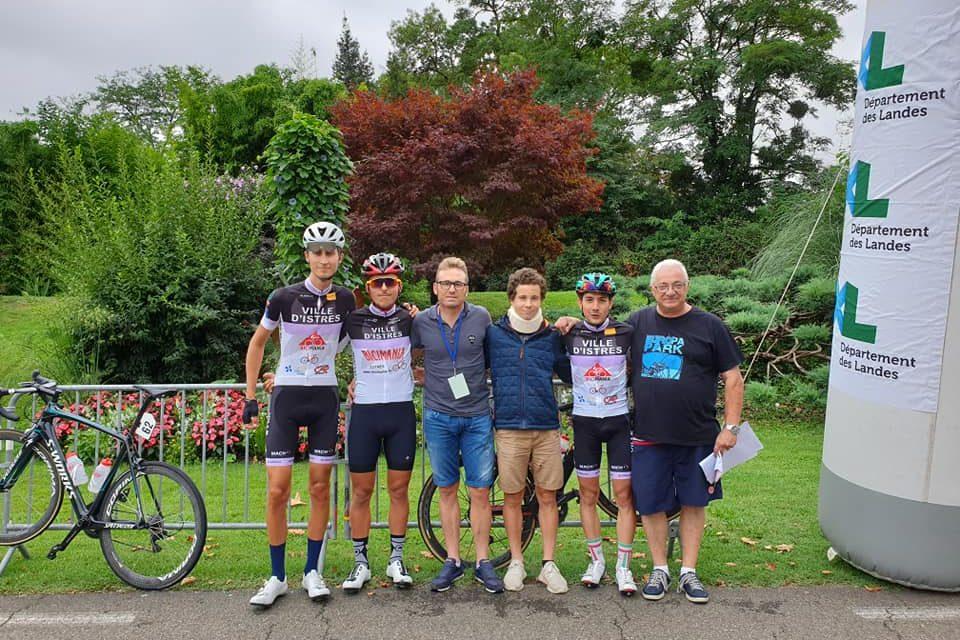 Tour des Landes samedi 10 et dimanche 11 aout course 1er 2ème 3 ème catégorie et juniors