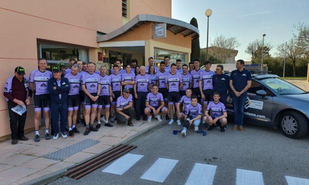 Remise équipement samedi 22 février 2020 Hôtel Ariane Istres, encore merci à Frédéric Causse et son équipe pour leur accueil.