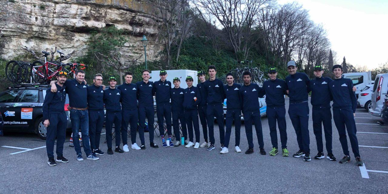 1er course de la saison La Cadières D'Azur 23 février 2020 séniors 2ème et 3ème catégorie et juniors