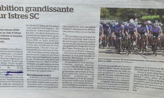 ARTICLE DE PRESSE La Marseillaise